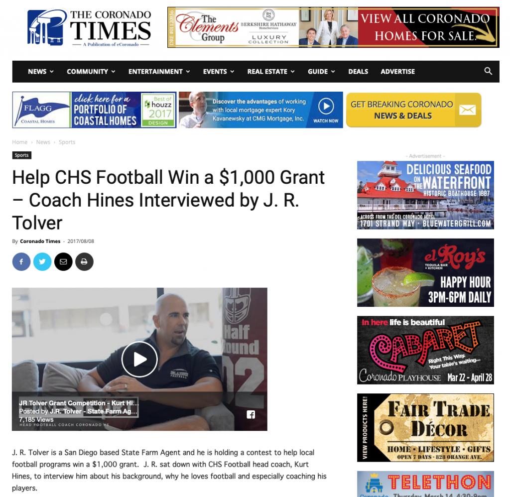 Coach Kurt Hines Press 3